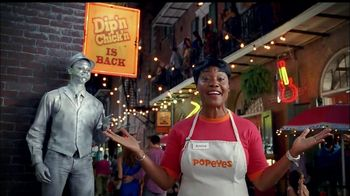 Popeyes Dip'n Chick'n TV Spot, 'Holding Your Breath' - 1390 commercial airings