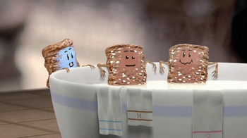 Frosted Mini-Wheats TV Spot, 'Hot or Cold' - Thumbnail 4
