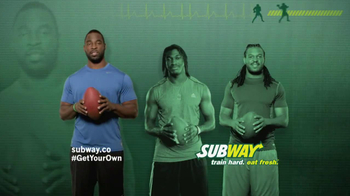 Subway Tuscan Chicken Melt TV Spot Ft. Justin Tuck, Jarvis Jones - 32 commercial airings