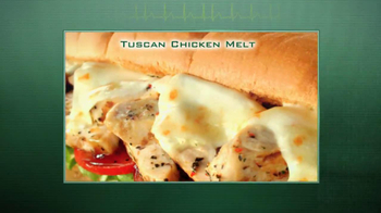 Subway Tuscan Chicken Melt TV Spot Ft. Justin Tuck, Jarvis Jones - Thumbnail 1