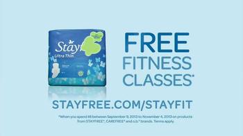 Stayfree Ultra Thin TV Spot, 'Flexibility' - Thumbnail 10
