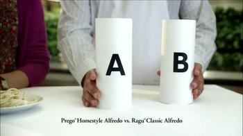 Prego Homestyle Alfredo TV Spot, 'Ragu Taste Test' - Thumbnail 2