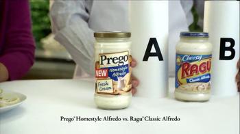 Prego Homestyle Alfredo TV Spot, 'Ragu Taste Test' - Thumbnail 3