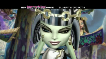 Monster High: 13 Wishes Blu-ray and DVD TV Spot - Thumbnail 9