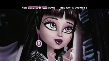 Monster High: 13 Wishes Blu-ray and DVD TV Spot