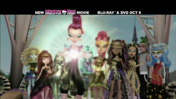 Monster High: 13 Wishes Blu-ray and DVD TV Spot - Thumbnail 4