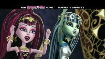 Monster High: 13 Wishes Blu-ray and DVD TV Spot - Thumbnail 8