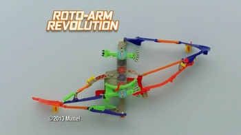 Hot Wheels Wall Tracks Roto-Arm Revolution TV Spot