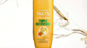 Garnier Fructis Triple Nutrition TV Spot, 'Desperately Dry' - Thumbnail 3