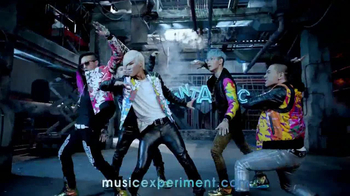 Intel TV Spot, 'The Music Experiment Me 2.0' Song by Big Bang