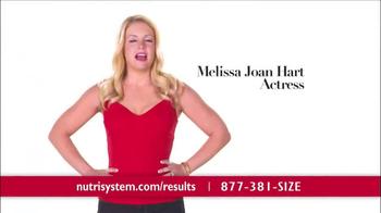Nutrisystem TV Spot, 'Results' Featuring Melissa Joan Hart - Thumbnail 1