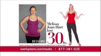 Nutrisystem TV Spot, 'Results' Featuring Melissa Joan Hart - Thumbnail 2