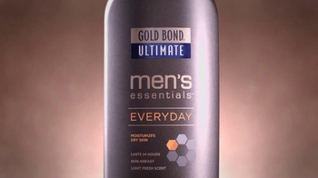 Gold Bond Ultimate Men's Lotion TV Spot Featuring Shaquille O'Neal - Thumbnail 3