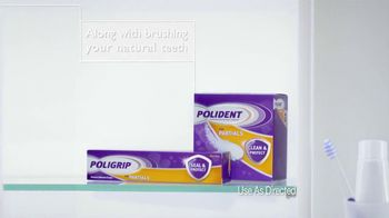 Poligrip for Partials TV Spot