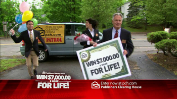 Publishers Clearing House TV Spot, \'For Life\'
