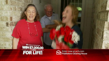 Publishers Clearing House TV Spot, 'For Life' - Thumbnail 7