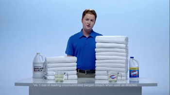 Clorox Clorox Concentrated Bleach TV Spot 'Twice as Many' - Thumbnail 2