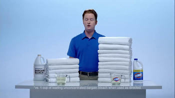 Clorox Clorox Concentrated Bleach TV Spot 'Twice as Many' - Thumbnail 3