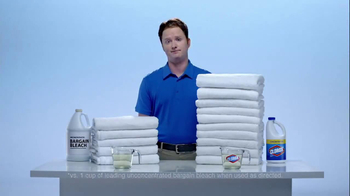 Clorox Clorox Concentrated Bleach TV Spot 'Twice as Many' - Thumbnail 4