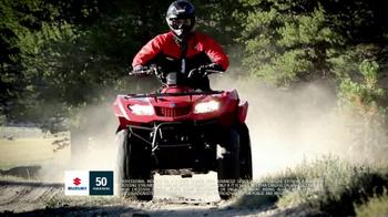 2013 Suzuki Quadfair TV Spot