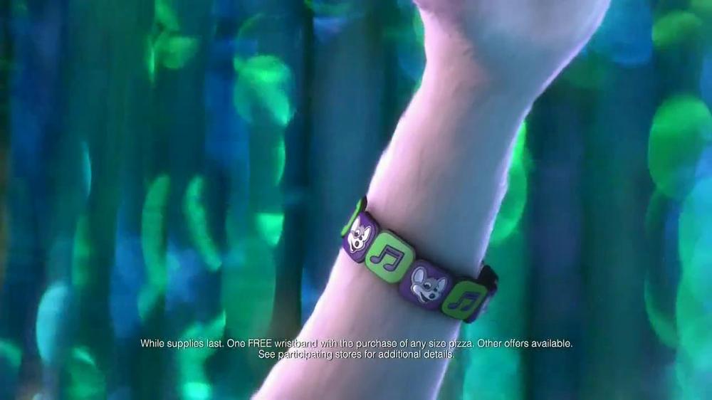 Chuck E. Cheese's Wristbands TV Commercial, 'Free Birds'
