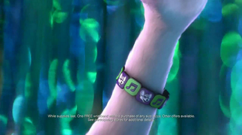 Chuck E. Cheese's Wristbands TV Spot, 'Free Birds' - 2013 commercial airings