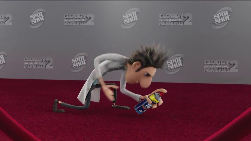 Spot Shot TV Commercial, 'Cloudy with a Chance of Meatballs 2'
