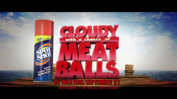 Spot Shot TV Spot, 'Cloudy with a Chance of Meatballs 2' - Thumbnail 8
