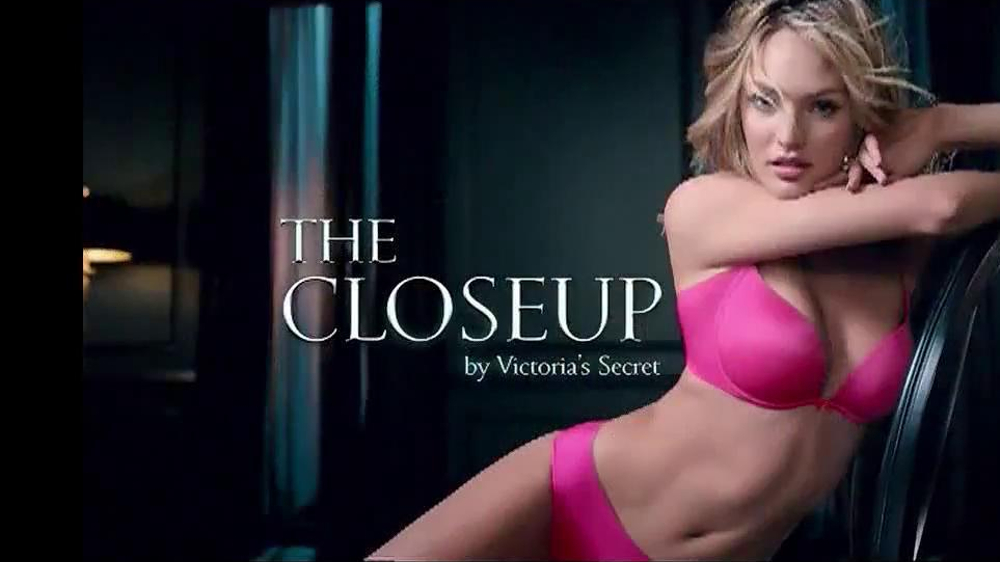 Victoria's Secret The Closeup TV Commercial Featuring Candice Swanepoel