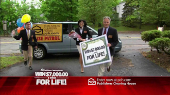Publishers Clearing House TV Spot, '$7000 a Week' - Thumbnail 1
