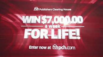 Publishers Clearing House TV Spot, '$7000 a Week'