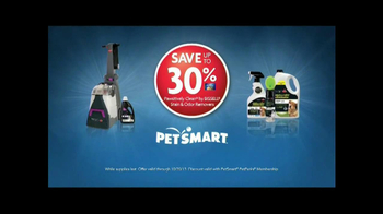 PetSmart TV Spot, 'Bissell Pawsitively Clean' - Thumbnail 6