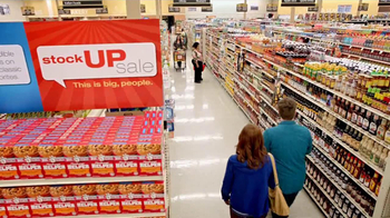 Albertsons Stock Up Sale TV Spot, 'Tantrum on Aisle Nine' - Thumbnail 3