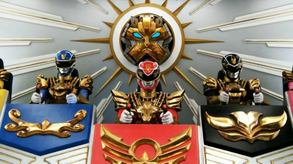 Power Rangers Megaforce Gosei Ultimate Megazords TV Commercial - Video