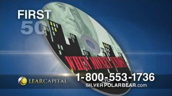 Lear Capital Silver Polar Bear TV Spot, 'Prices on the Rise' - Thumbnail 9