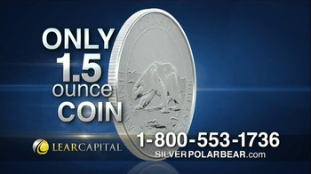 Lear Capital Silver Polar Bear TV Spot, 'Prices on the Rise' - Thumbnail 4