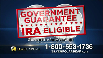 Lear Capital Silver Polar Bear TV Spot, 'Prices on the Rise' - Thumbnail 5