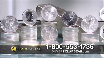 Lear Capital Silver Polar Bear TV Spot, 'Prices on the Rise' - Thumbnail 6