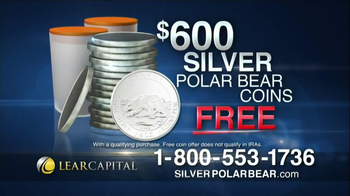 Lear Capital Silver Polar Bear TV Spot, 'Prices on the Rise'