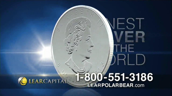 Lear Capital Silver Polar Bear TV Spot, 'Market Fears' - Thumbnail 5