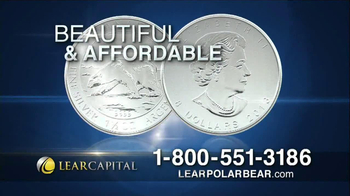Lear Capital Silver Polar Bear TV Spot, 'Market Fears' - Thumbnail 6