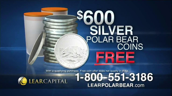 Lear Capital Silver Polar Bear TV Spot, 'Market Fears' - Thumbnail 9