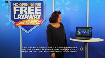 Walmart Layaway TV Spot, 'Windows PC' - Thumbnail 3