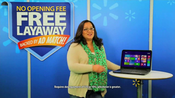 Walmart Layaway TV Spot, 'Windows PC'