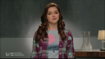 USA Network TV Spot, 'Stand up to Bullying' feat Ariel Winter