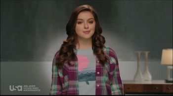 USA Network TV Spot, 'Stand up to Bullying' feat Ariel Winter - Thumbnail 1