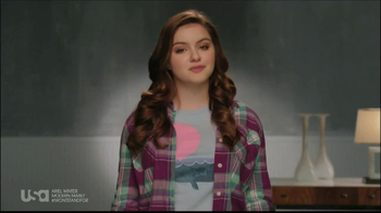 USA Network TV Spot, 'Stand up to Bullying' feat Ariel Winter - 77 commercial airings