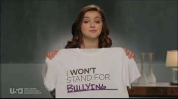 USA Network TV Spot, 'Stand up to Bullying' feat Ariel Winter - Thumbnail 3