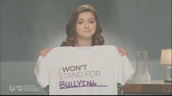 USA Network TV Spot, 'Stand up to Bullying' feat Ariel Winter - Thumbnail 4