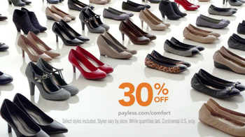 Payless Fall Fashion Sale TV Spot, 'Comfort and Style' - Thumbnail 9